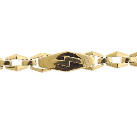 image of David Webb Gold Link Bracelet