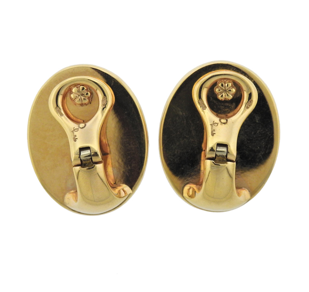thumbnail image of Pomellato Victoria Jet Gold Earrings