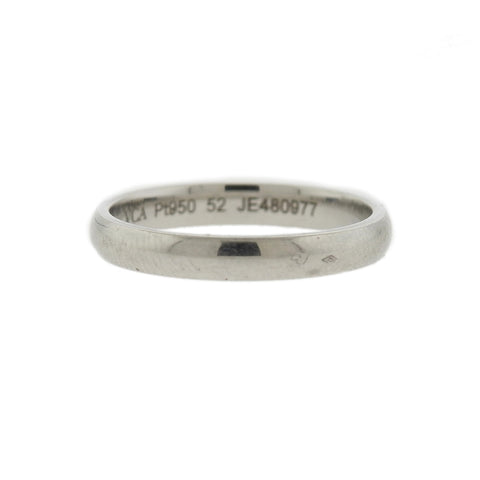 Van Cleef & Arpels Platinum 2.9mm Wedding Band Ring