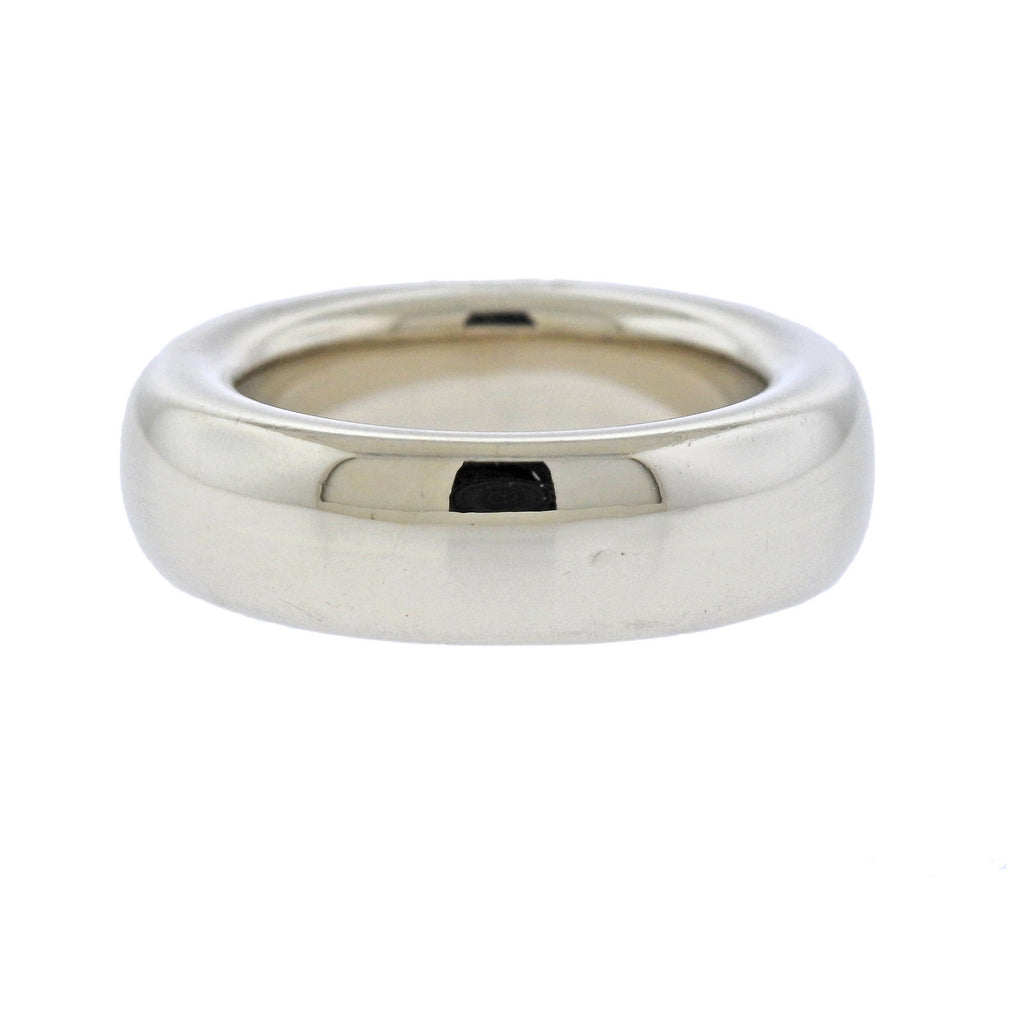 thumbnail image of Pomellato White Gold Stackable Band Ring
