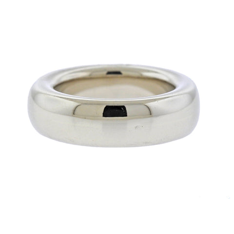 image of Pomellato White Gold Stackable Band Ring