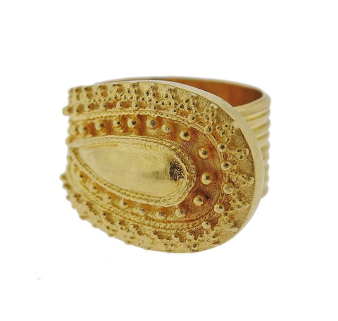 image of Lalaounis Greece Gold Ring
