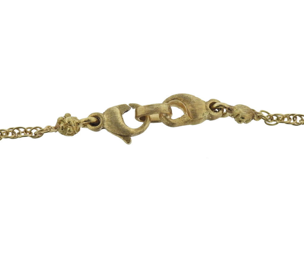 thumbnail image of Buccellati Gold Leaf Necklace