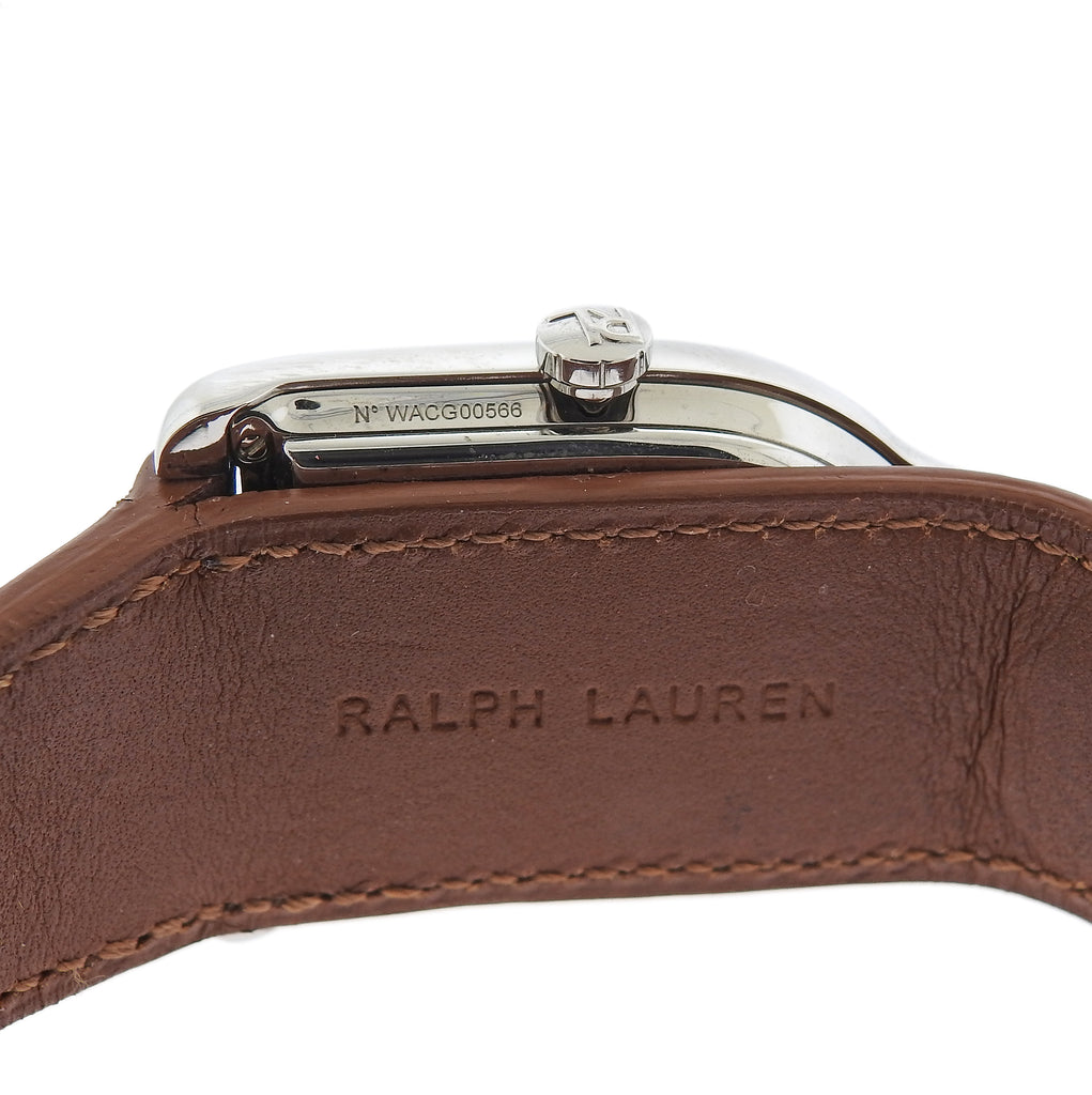 thumbnail image of Ralph Lauren Stirrup White Dial Medium Automatic Watch
