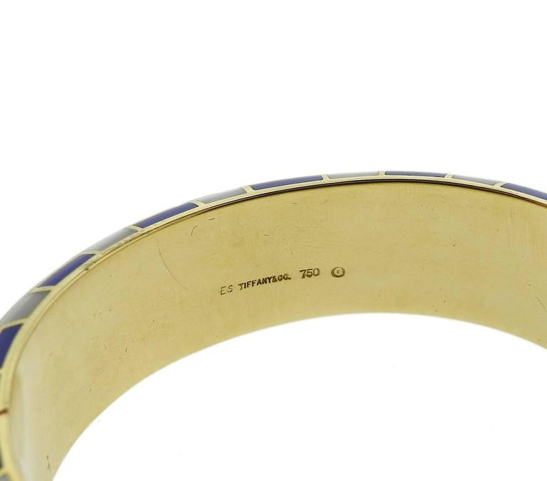 8b0fcac98 Home » Tiffany & Co. Gold Blue Coral Mother of Pearl Bangle Bracelet. If  you have a similar item that you wish to sell, Please contact us
