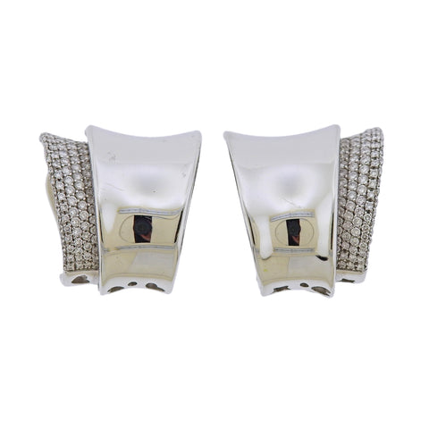 image of Pasquale Bruni Diamond Ear Clips Earrings