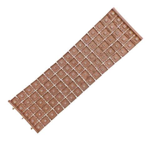 image of Antonio Bernardo Diamond Rose Gold Wide Bracelet