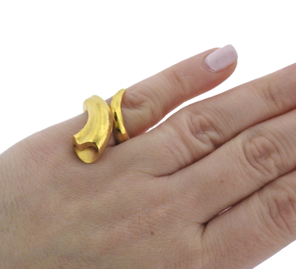 thumbnail image of Lalaounis Greece Wrap Gold Ring