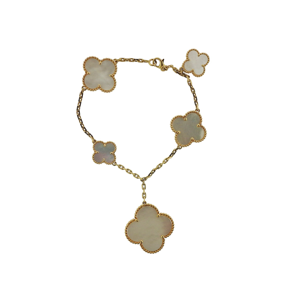 thumbnail image of Van Cleef & Arpels Alhambra Mother of Pearl Bracelet