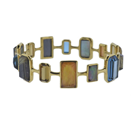 image of Ippolita Rock Candy Marrakesh Gemstone 18k Gold Bracelet