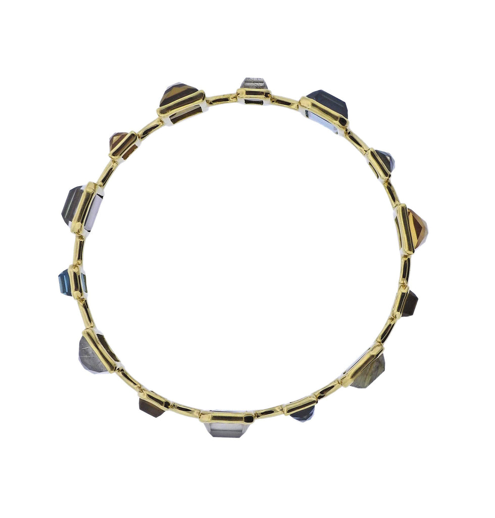 thumbnail image of Ippolita Rock Candy Marrakesh Gemstone 18k Gold Bracelet