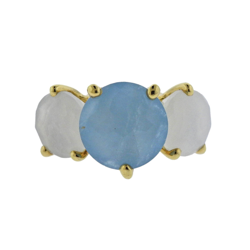 thumbnail image of Ippolita Rock Candy Gelato Silk Road Gemstone 18k Gold Ring