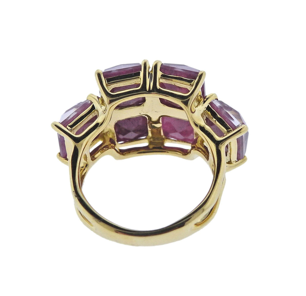 thumbnail image of Ippolita Rock Candy Ruby 18k Gold Ring