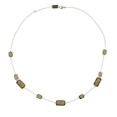 image of Ippolita Rock Candy Cognac Citrine 18k Gold Necklace