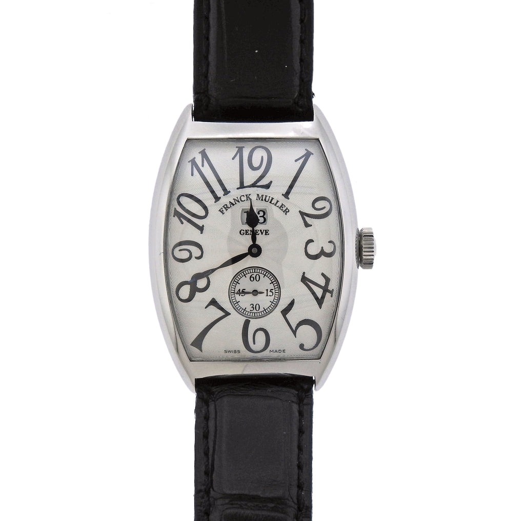 thumbnail image of Franck Muller Casablanca Steel Automatic Watch ref. 6850 S6 GG