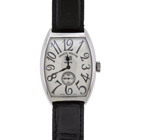 image of Franck Muller Casablanca Steel Automatic Watch ref. 6850 S6 GG