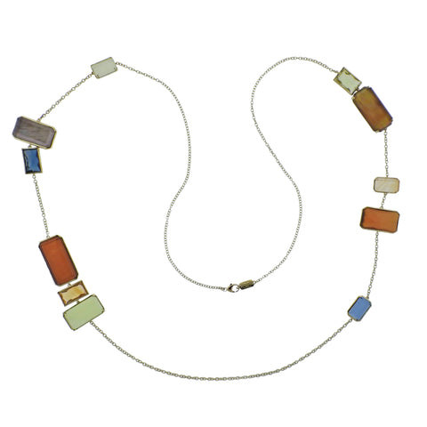 image of Ippolita Rock Candy Marrakesh 18k Gold Long Necklace