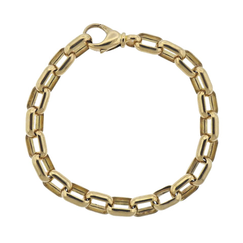 image of Chopard Gold Link Bracelet