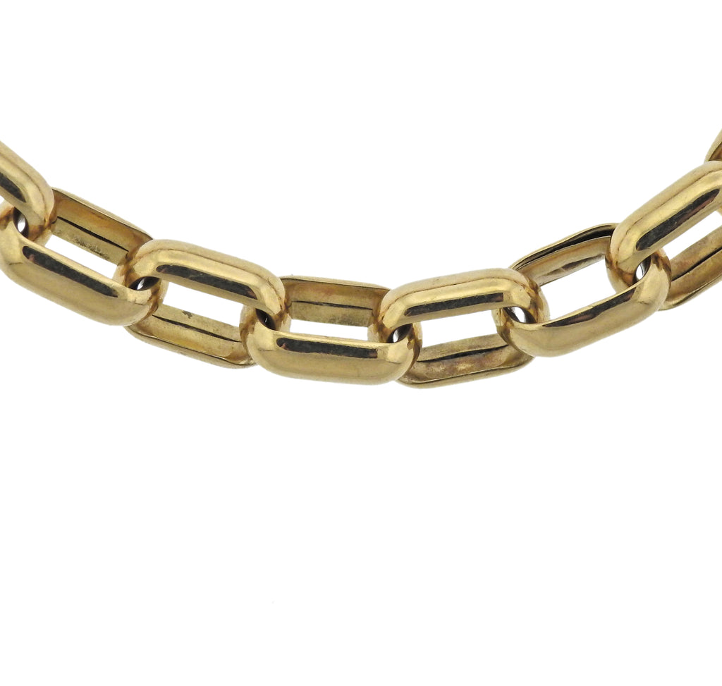 thumbnail image of Chopard Gold Link Bracelet