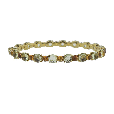 image of Ippolita Lollipop Citrine 18k Gold Bracelet