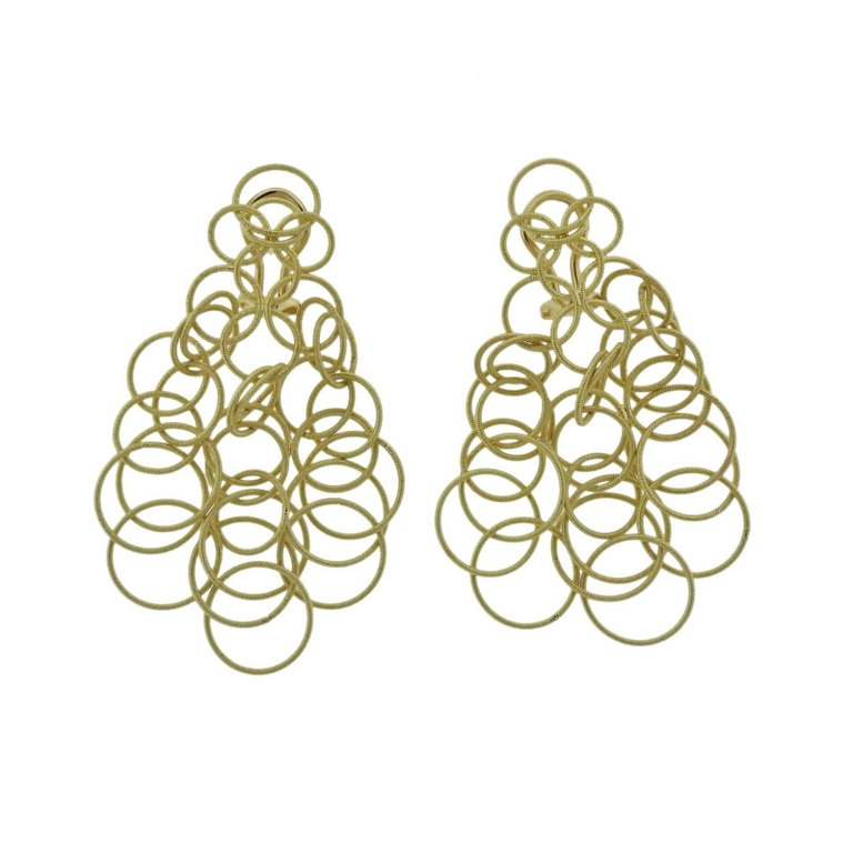 thumbnail image of Buccellati Hawaii Gold Earrings
