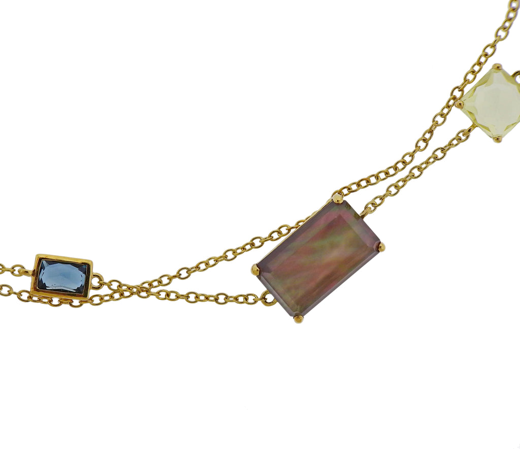 thumbnail image of Ippolita Rock Candy Gelato Beverly 18k Gold Long Necklace