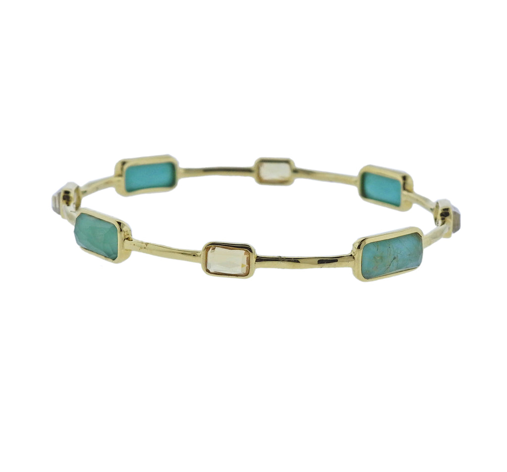 thumbnail image of Ippolita Rock Candy Gelato Sailor 8 Stone 18k Gold Bracelet