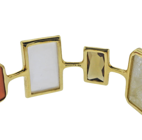 image of Ippolita Rock Candy Casablanca 18k Gold Bracelet