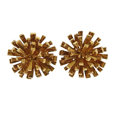 image of 1970s Tiffany & Co 18k Gold Earrings
