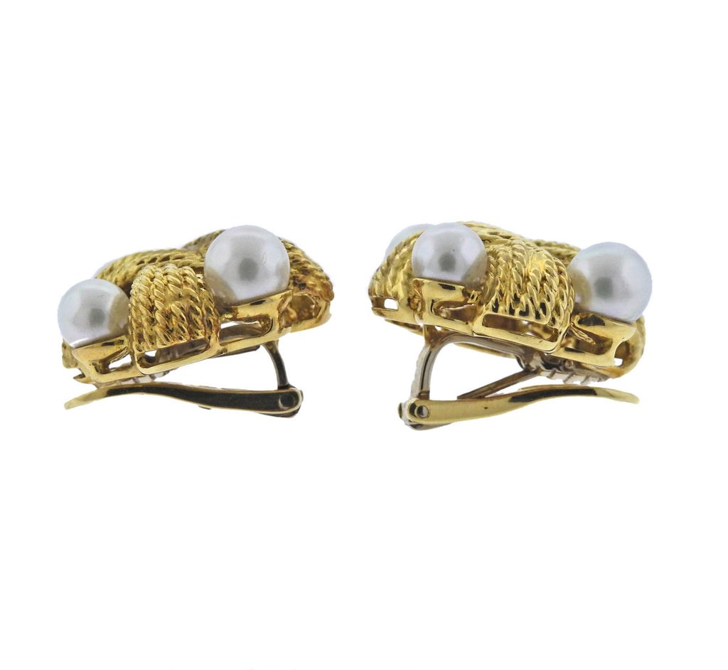 thumbnail image of Pearl Gold Earrings