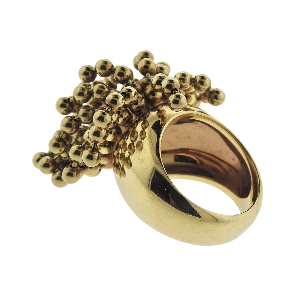 thumbnail image of Cartier Nouvelle Vague Gold Charm Ring