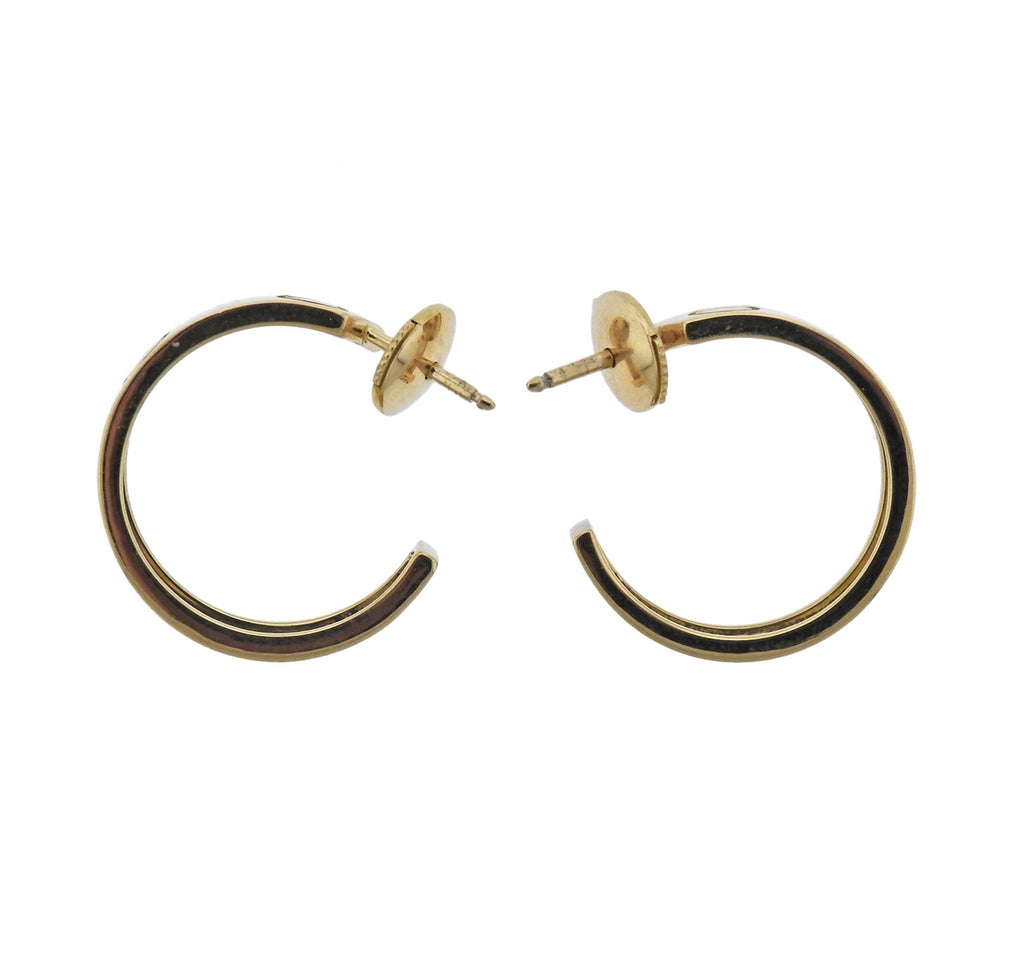 thumbnail image of Cartier Love Gold Hoop Earrings