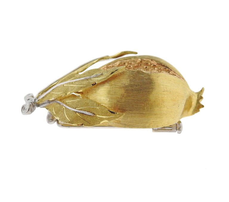 thumbnail image of Buccellati Gold Pomegranate Brooch