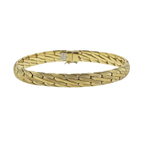 image of Buccellati Yellow Gold Bracelet