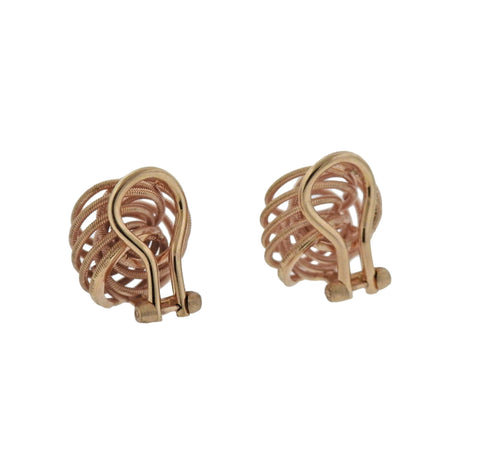 image of Buccellati Rose Gold Earrings
