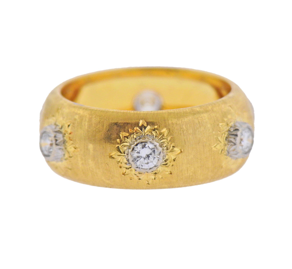thumbnail image of Buccellati Gold Diamond Ring