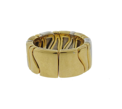 image of Marina B 18K Gold Flexible Band Ring