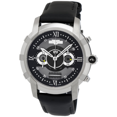 image of Dewitt Glorious Knight Stainless Steel Chronograph Watch
