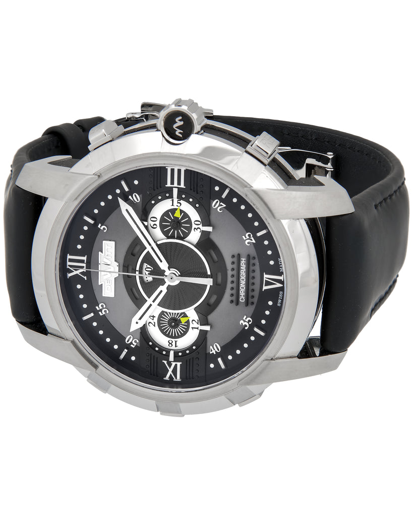 thumbnail image of Dewitt Glorious Knight Stainless Steel Chronograph Watch
