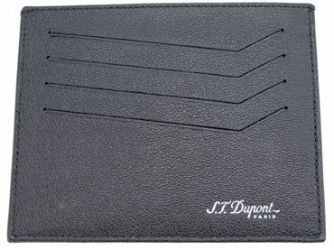 thumbnail image of ST Dupont Black Leather Defi Wallet 086608