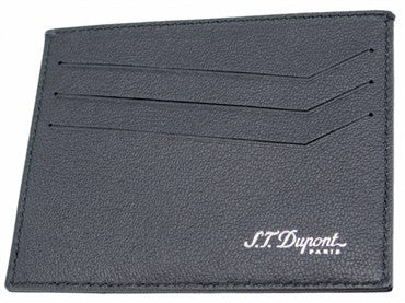 thumbnail image of ST Dupont Black Leather Defi Wallet 086609