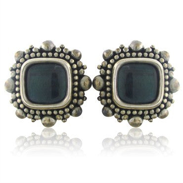 thumbnail image of Stephen Dweck Sterling Silver Labradorite Earrings