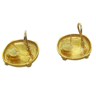 thumbnail image of Seidengang Athena 18k Gold Diamond Earrings