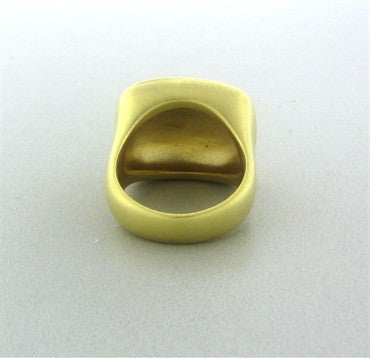 image of Pomellato 18K Yellow Gold Signature Ring