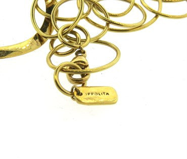 thumbnail image of Ippolita Multi Shape Link 18k Gold Necklace