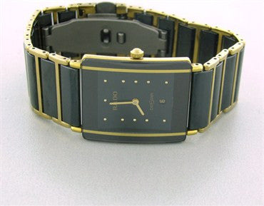 image of Men's Rado Diastar 18k Gold Ceramic Watch
