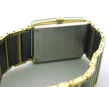 thumbnail image of Men's Rado Diastar 18k Gold Ceramic Watch