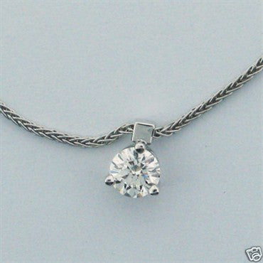 thumbnail image of New Hearts on Fire 18k Gold 0.47ct Diamond Necklace