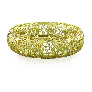 thumbnail image of Tiffany & Co Paloma Picasso Marrakesh 18K Gold Bangle Bracelet