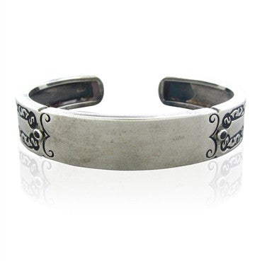 thumbnail image of Stephen Webster Sterling Silver Sapphire ID Cuff Bracelet